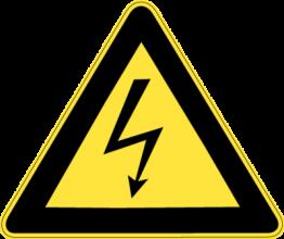На автомобиль Наклейка «High Voltage»Знаки<br><br>
