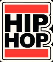 На автомобиль Наклейка «Hip-Hop»Музыка<br><br>