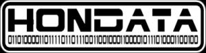 На автомобиль Наклейка «HONDATA»Honda<br><br>