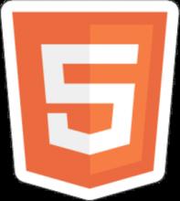 На автомобиль Наклейка «HTML5»Декор<br><br>