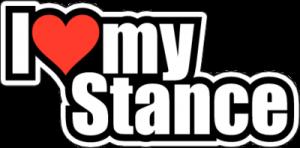 На автомобиль Наклейка «I Love my Stance»JDM<br><br>