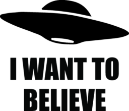 На автомобиль Наклейка «I Want To Believe»Автостиль<br><br>