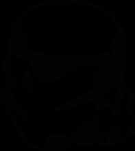 На автомобиль Наклейка «Имперский Штурмовик»Star Wars<br><br>