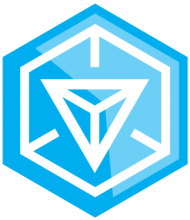На автомобиль Наклейка «Ingress»Компьютерные игры<br><br>