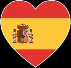 На автомобиль Наклейка «Испания сердце»Страны и путешествия<br><br>