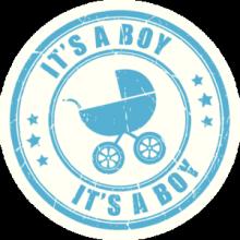 На автомобиль Наклейка «Its a Boy»Разные<br><br>