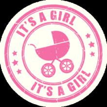 На автомобиль Наклейка «Its a Girl»Разные<br><br>