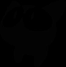 На автомобиль Наклейка «Japan Cat Eyes»Разные<br><br>