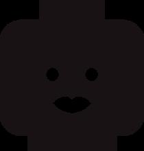 На автомобиль Наклейка «JDM Lego Head Woman»JDM<br><br>