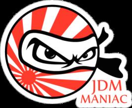 На автомобиль Наклейка «JDM Maniac»JDM<br><br>