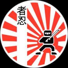 На автомобиль Наклейка «JDM Ninja Warrior»JDM<br><br>