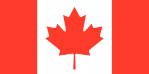 На автомобиль Наклейка «Канада»Страны и путешествия<br><br>