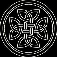 На автомобиль Наклейка «Кельтский узор»История и Религия<br><br>