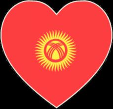 На автомобиль Наклейка «Кыргызстан»Страны и путешествия<br><br>