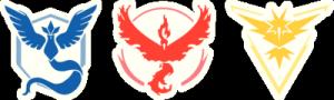 На автомобиль Наклейка «Команды Покемон»Логотипы<br><br>