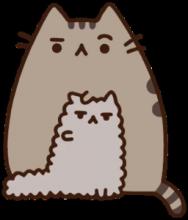 На автомобиль Наклейка «Кошка с котенком»Животный мир<br><br>