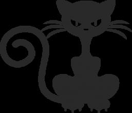 На автомобиль Наклейка «Кошка злая»Кошки<br><br>