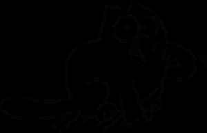 На автомобиль Наклейка «Кот Саймона - Хочу жрать»Разные<br><br>