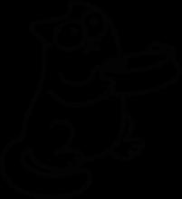 На автомобиль Наклейка «Кот Саймона - Покушать бы»Разные<br><br>