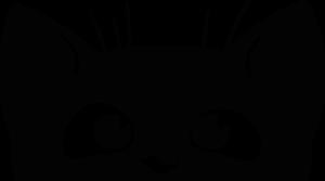 На автомобиль Наклейка «Котёнок выглядывает»Кошки<br><br>