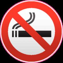 На автомобиль Наклейка «Курение запрещено»Знаки запрета для магазинов<br><br>