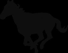 На автомобиль Наклейка «Лошадь»Животный мир<br><br>