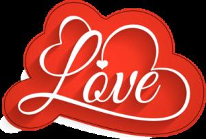На автомобиль Наклейка «Love»День Святого Валентина<br><br>
