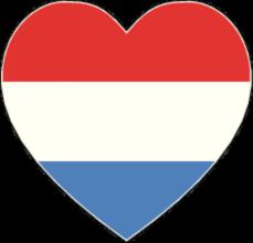 На автомобиль Наклейка «Люксембург сердце»Страны и путешествия<br><br>