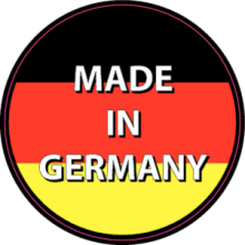 На автомобиль Наклейка «Made In Germany»Страны и путешествия<br><br>