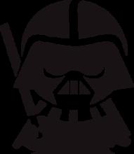 На автомобиль Наклейка «Малыш Дарт Вейдер»Star Wars<br><br>