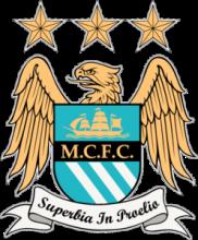 На автомобиль Наклейка «Манчестер Сити»Футбольные клубы<br><br>