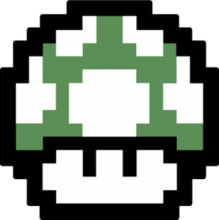 На автомобиль Наклейка «Mario Mushroom»JDM<br><br>