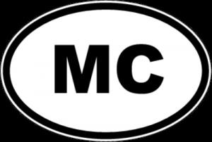 На автомобиль Наклейка «MC - Монако»Автомобильные<br><br>