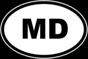 На автомобиль Наклейка «MD - Молдова»Автомобильные<br><br>