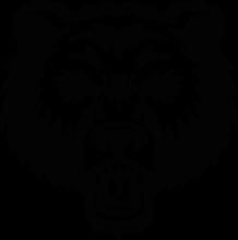 На автомобиль Наклейка «Медведь»Животный мир<br><br>