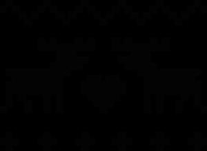 На автомобиль Наклейка «Олени вязанные»Новогодние<br><br>