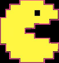 На автомобиль Наклейка «Pacman»Pacman<br><br>