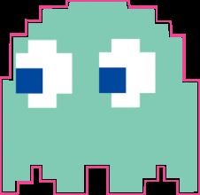 На автомобиль Наклейка «Pacman Inky»Pacman<br><br>