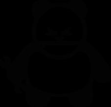 На автомобиль Наклейка «Panda Mechanic»JDM<br><br>