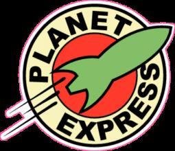 На автомобиль Наклейка «Planet Express»Futurama<br><br>
