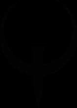 На автомобиль Наклейка «Quake»Компьютерные игры<br><br>