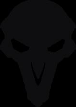 На автомобиль Наклейка «Reaper»Компьютерные игры<br><br>