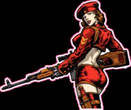 На автомобиль Наклейка «Red Alert Natasha»Компьютерные игры<br><br>
