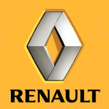 На автомобиль Наклейка «Renault Рено Цветная»Renault<br><br>