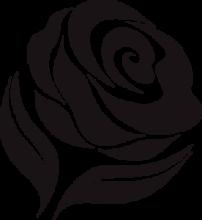 На автомобиль Наклейка «Роза»Разные<br><br>