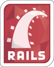 На автомобиль Наклейка «Ruby on Rails»Разные<br><br>