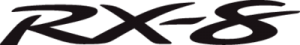 На автомобиль Наклейка «RX-8»Mazda<br><br>