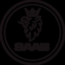 На автомобиль Наклейка «SAAB»SAAB<br><br>