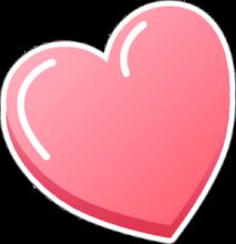 На автомобиль Наклейка «Сердечко»День Святого Валентина<br><br>