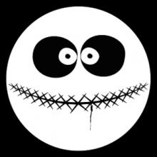 На автомобиль Наклейка «Смайлик зашитый рот»Разные<br><br>